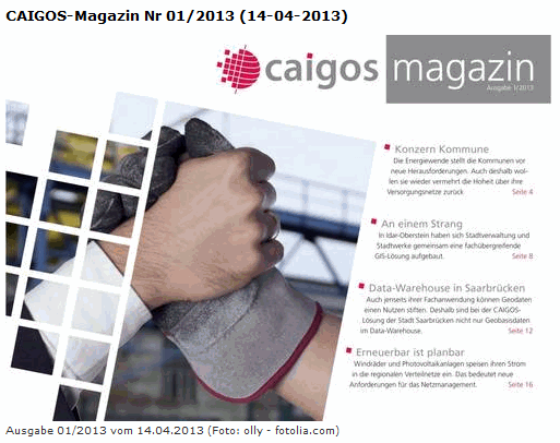 CAIGOS-Magazin 2013apr